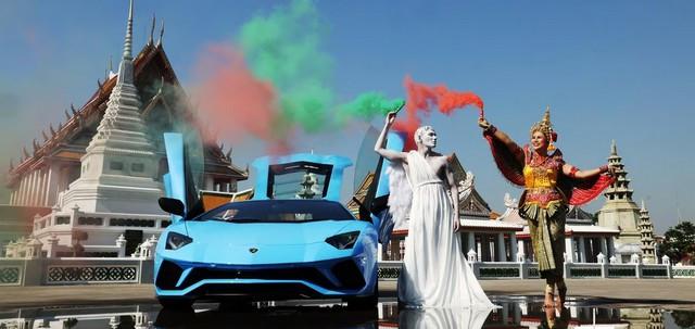 Le projet «Avec l'Italie, pour l'Italie» de Lamborghini atteint l'Asie-Pacifique Lamborghini-with-01