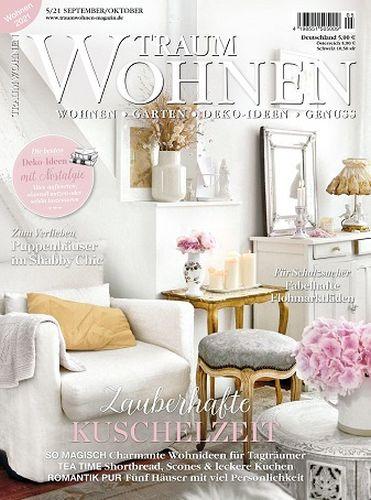 Cover: TraumWohnen Magazin No 05 September-Oktober 2021