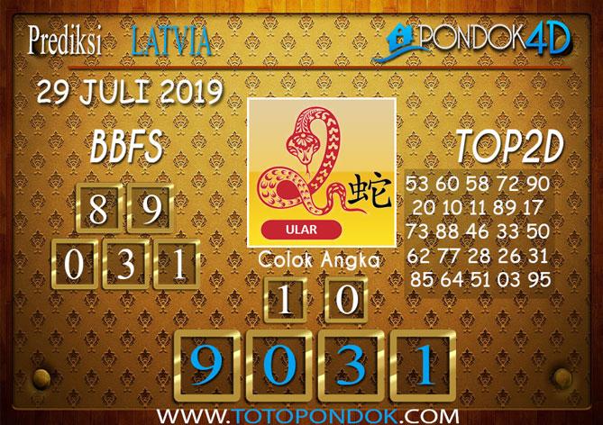 Prediksi Togel LATVIA POOLS PONDOK4D 29 JULI 2019