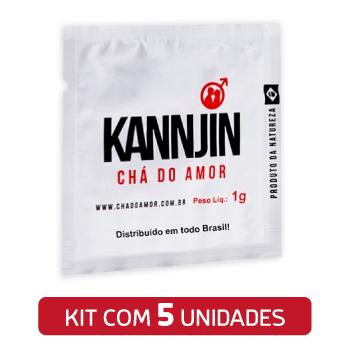 Chá Do Amor Kannjin c/ 5 Sachês