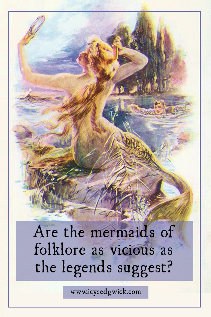 People believe mermaids are either sweet sea-dwelling souls who dream of dry land, or vicious monsters who lure sailors to their deaths. Which is more true?