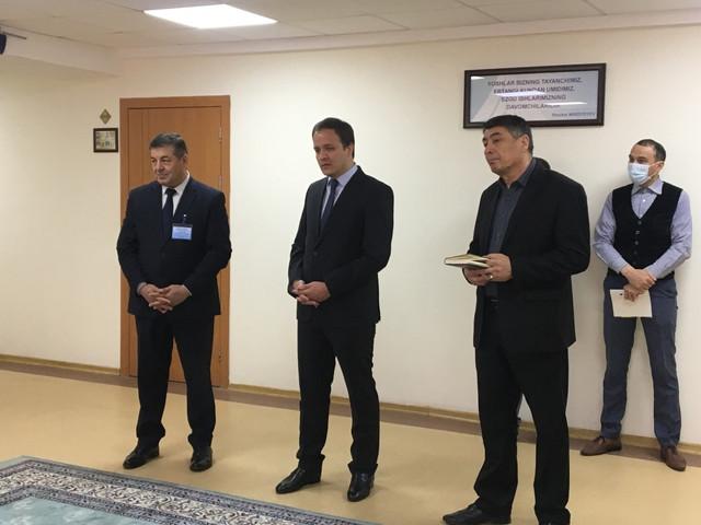 Turkmaniston Respublikasining O'zbekistondagi elchixonasi  3-sekretari To'rayev Handurdi janoblari filialda tahsil olayotgan  Turkmanistonlik talabalar bilan uchrashdi