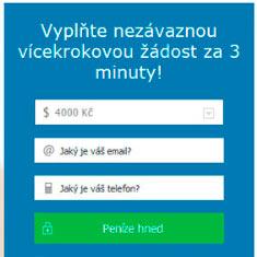 nebankovní online půjčka