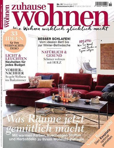 Cover: Zuhause Wohnen Magazin No 11 November 2021