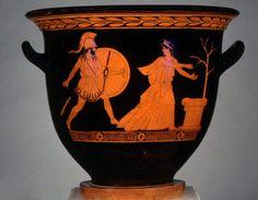 O reencontro de Helena e Menelau
