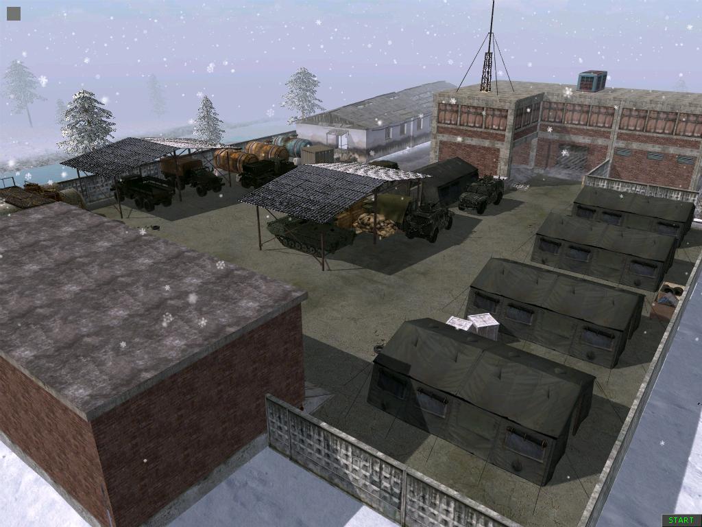 Скачать Зимняя карта (( Без миссии ))
