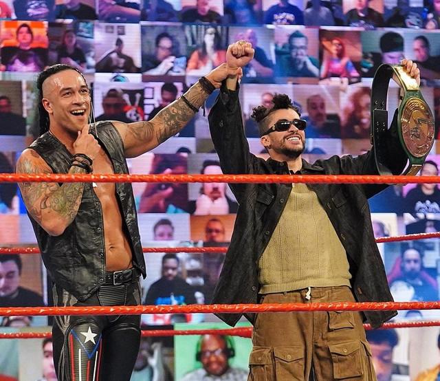 Bad Bunny y Damian Priest vencen a Elias RAW 1 marzo