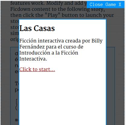 Primera ficción interactivae