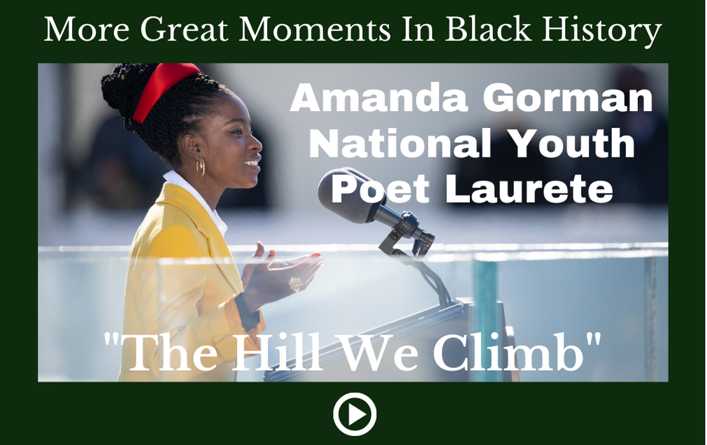 "Amanda Gorman ""The Hill We Climb"""