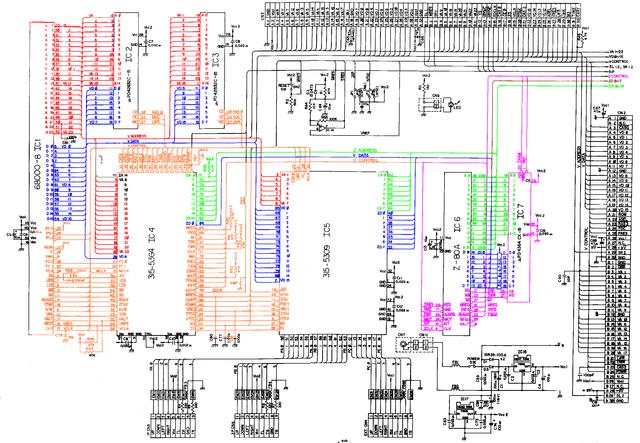Mega-Drive-1-VA3-CPUs-a-RAM-Sheet-1-COLOR-CODE