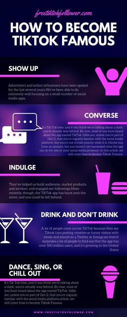 How-to-Become-Tiktok-Famous-infographic-by-Freetiktokfollower-com