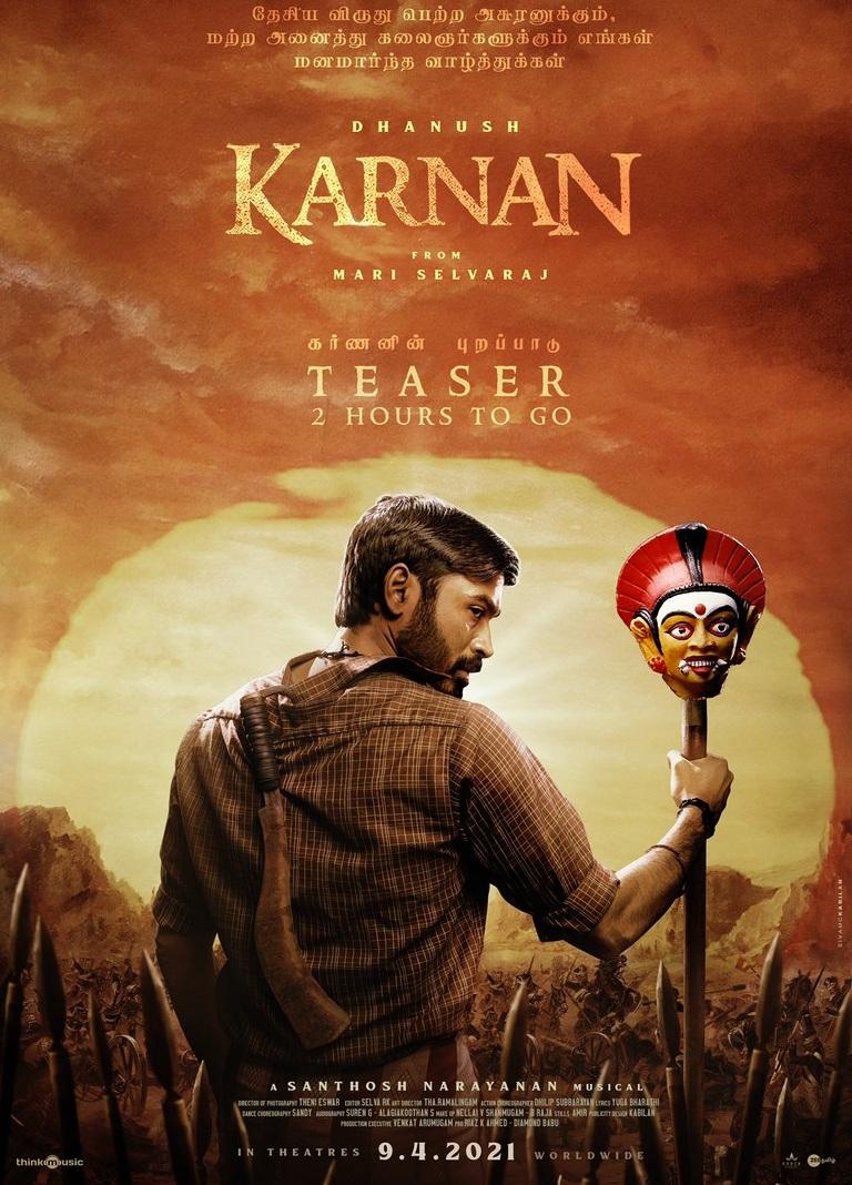 Karnan (2021) Tamil 480p Pre-DVDRip x264 AAC 400MB Dwonload