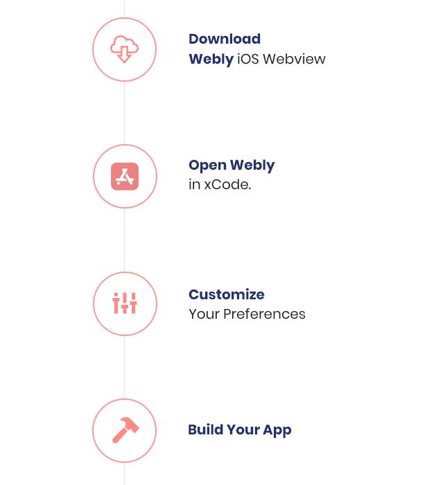 14 webview convert website into native ios app Webly IOS Webview 14