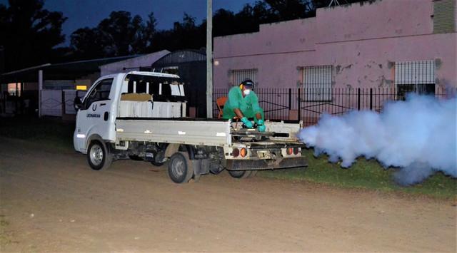 Locales: DENGUE: EL MUNICIPIO CONTINUARÁ HOY CON LA FUMIGACIÓN