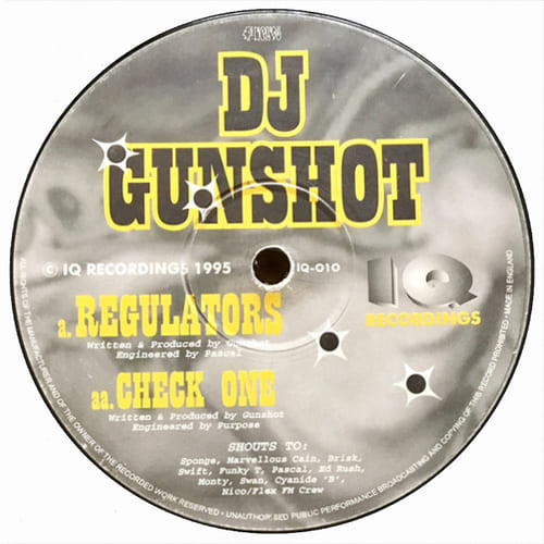Download DJ Gunshot - Regulators / Check One mp3