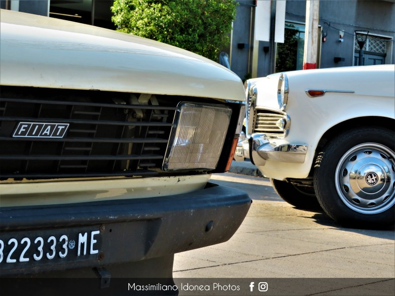 Raduno Auto d'epoca - Trecastagni (CT) - 21 Luglio 2019 Fiat-147-D-1-3-45cv-82-ME322333-e-Alfa-Romeo-Giulietta-CT122012-1