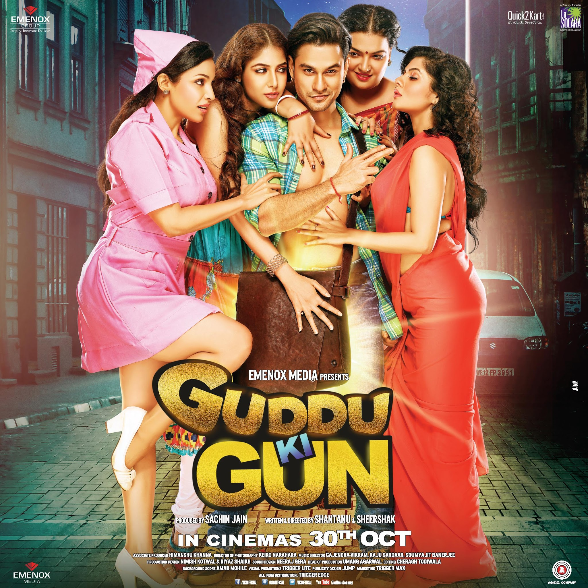 Guddu Ki Gun (2015) Hindi 480p WEB-DL x264 AAC 400MB ESub