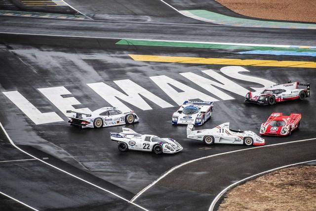 Porsche réuni six prototypes vainqueurs au classement général au Mans S20-4230-fine
