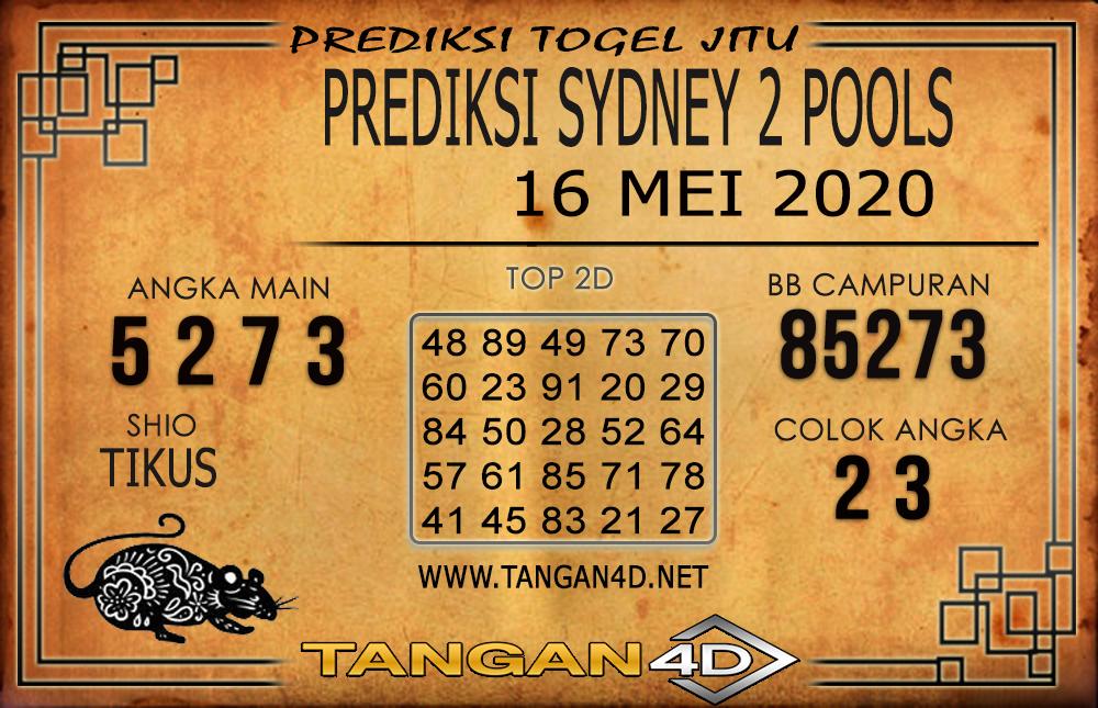 PREDIKSI TOGEL SYDNEY 2 TANGAN4D 16 MEI 2020