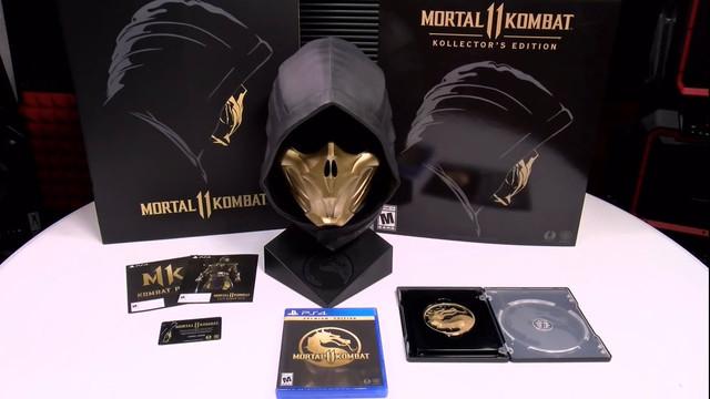 Ps4 Mortal Kombat 11 Kollector Edition Brand New Sealed Rare Sony Playstation Ebay