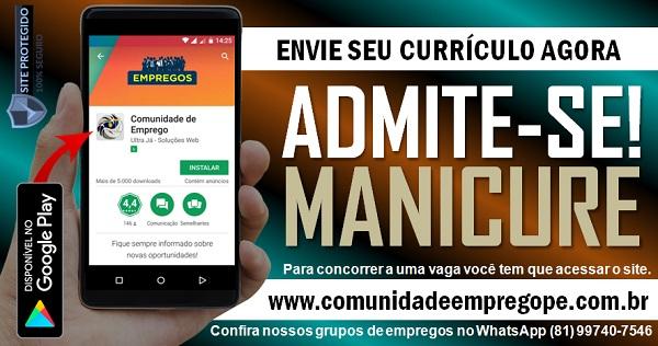 MANICURE PARA EMPRESA DO SEGMENTO DE BELEZA EM OLINDA