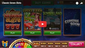 Classic Seven Slots Unity3d Game - 1