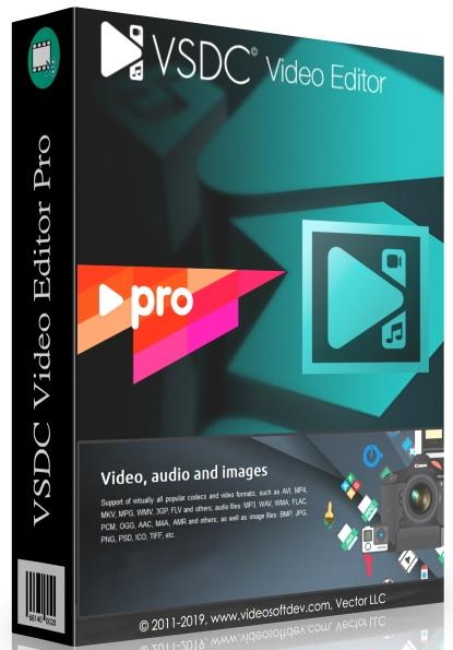 VSDC Video Editor Pro 6.8.4.344/345 + Portable