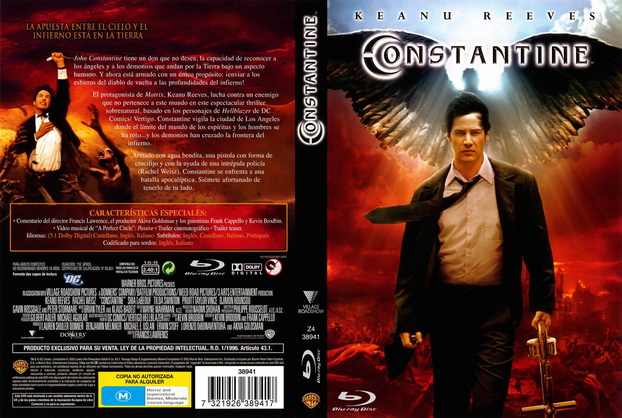 Constantine (2005) x264 1080p Latino-Ingles MKV