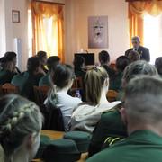 Встреча со студентами и курсантами