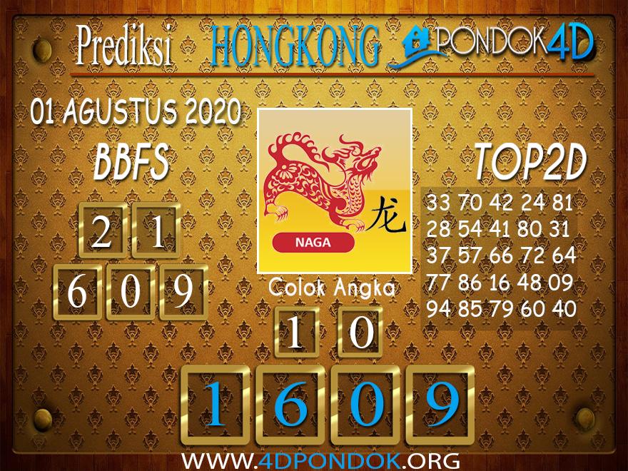 Prediksi Togel HONGKONG PONDOK4D 01 AGUSTUS 2020