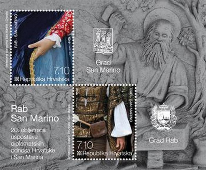 2012. year RAB-SAN-MARINO-BLOK