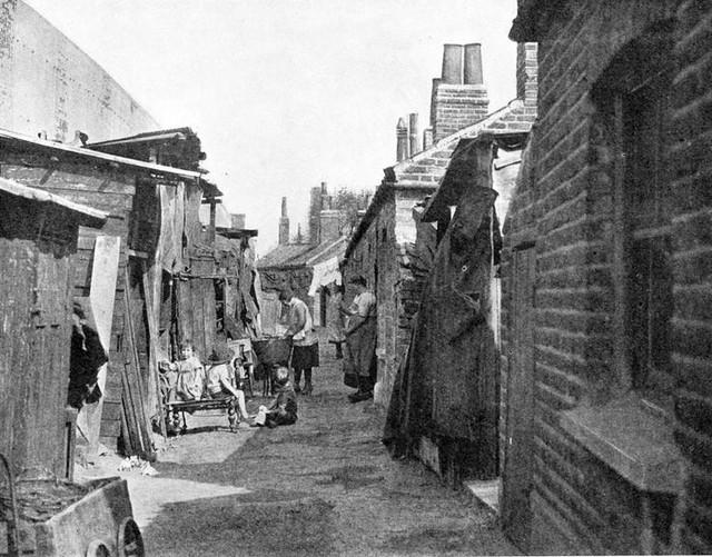 Victorian-Slum-Housing-Patio