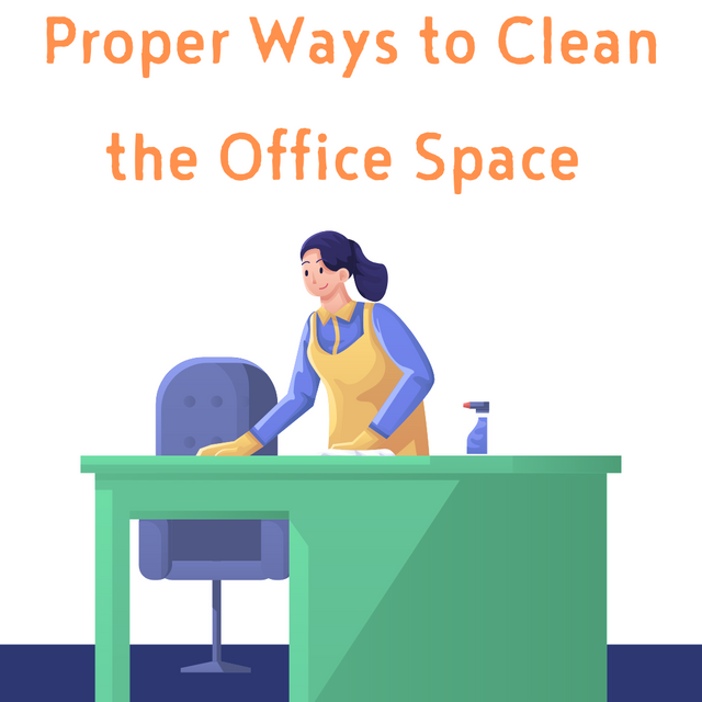 Proper-Ways-to-Clean-the-Office-Space