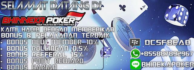 BhinnekaPoker.com | Agen Poker Online Terbaik dan Terpercaya New-15
