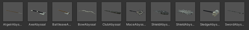 Abyssal Weapons