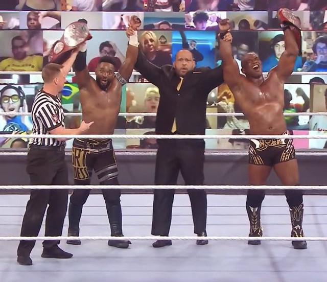 Hurt Business Nuevos Campeones de RAW vencen a New Day