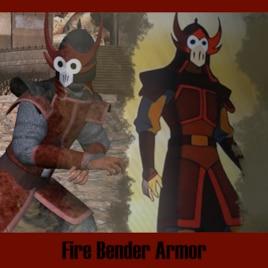Fire Bender Armor