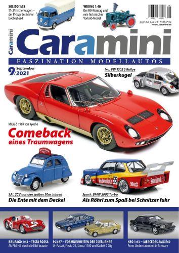 Cover: Caramini Faszination Modellauto Magazin September No 09 2021