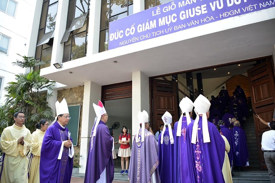 Lễ giỗ mãn tang Đức cố Giám mục Giuse Vũ Duy Thống