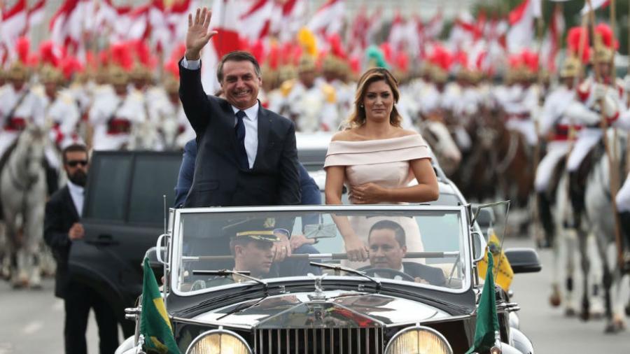 Los Discursos De Asuncion De Bolsonaro Como Presidente De Brasil En
