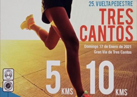 Aplazada al 14 de Febrero la XXV edición de la Vuelta Pedestre a Tres Cantos