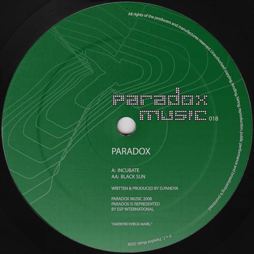 Download Paradox - Incubate / Black Sun mp3