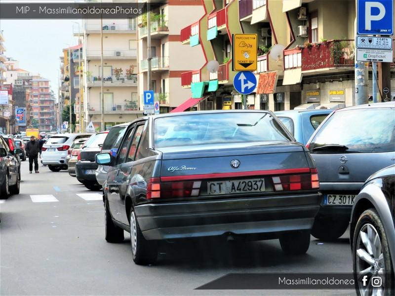avvistamenti auto storiche - Pagina 2 Alfa-Romeo-75-Turbo-D-2-0-95cv-91-CTA42937-354-666-30-11-2018