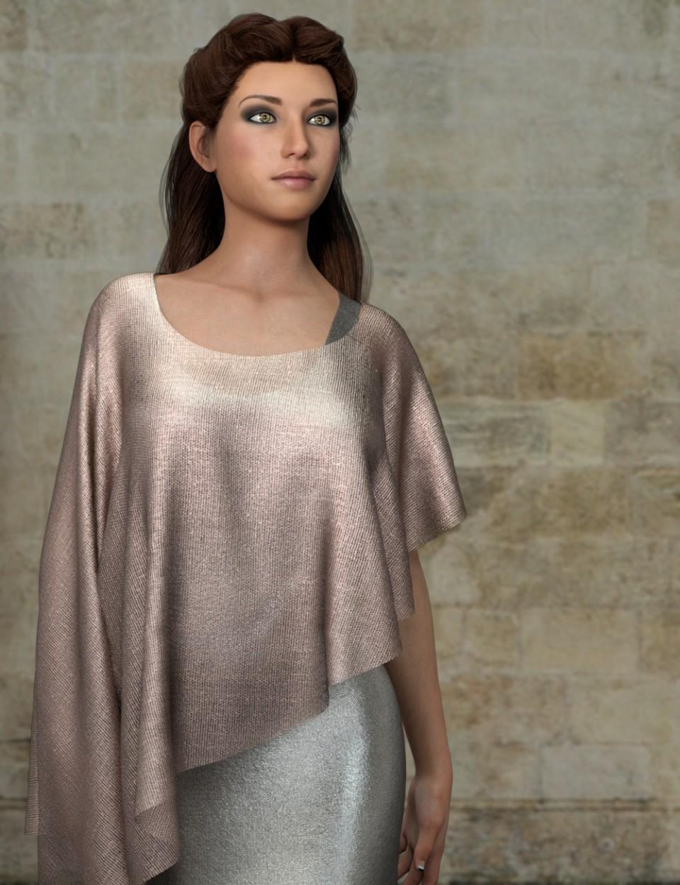 Sheer Metalic Fabrics for Iray