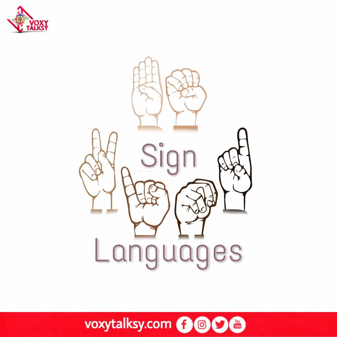International Day of Sign Languages 2020 | VoxyTalksy