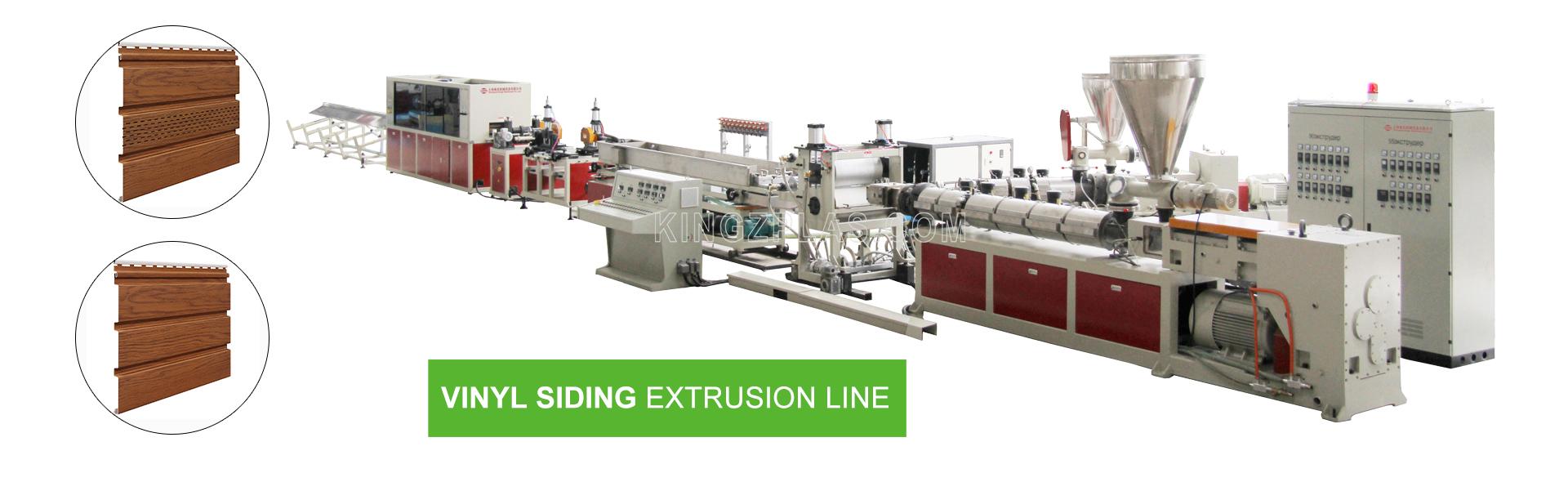 PVC-Siding-Extrusion-Line-Kingz-Machinery