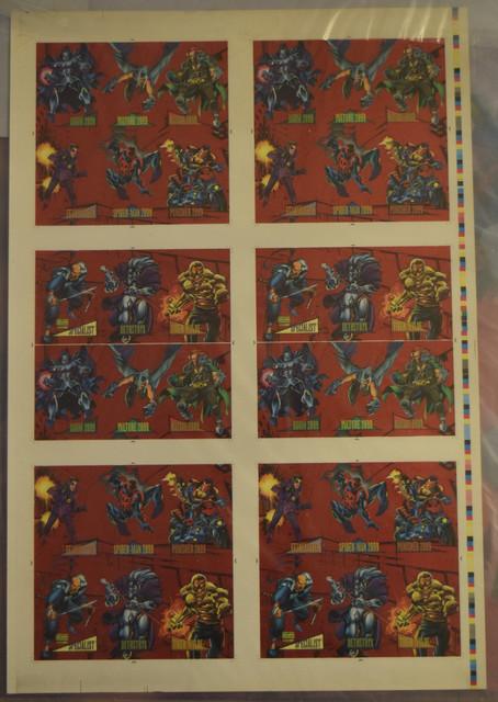 Marvel-Universe-Series-IV-1993-Uncut-Sheets-5