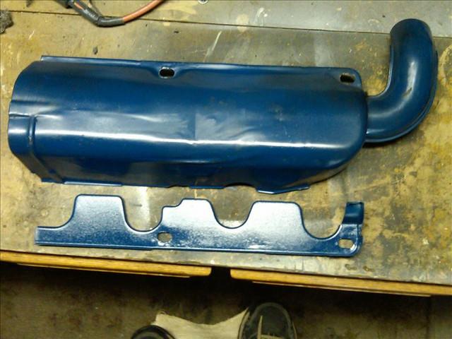 73 Mustang 351 C heat shield 3