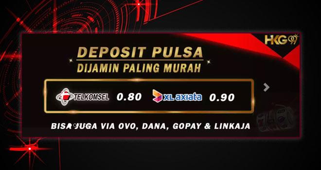 Slot Deposit Pulsa XL