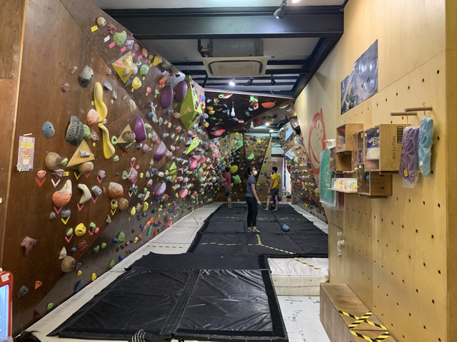 Oyeyo bouldering gym